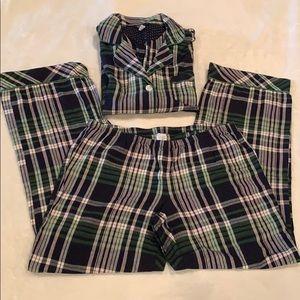Ladies flannel pajamas set